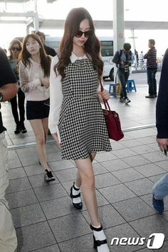 Snsd fashion airport