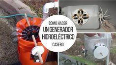 Today we will learn the project to build a homemade hydroelectric generator. Hydropower is one of the main sources of renewable energy in the world, Diy Generator, Homemade Generator, Magnetic Compass, Hydroelectric Power, Centre Commercial, Electric House, Electrical Tape, Rare Earth Magnets, Renewable Energy