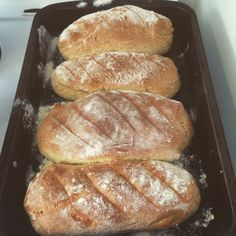 Fresh baked bread today for at With freenut butter Food Kids, Freshly Baked, Bread Baking, Afternoon Tea, Kids Meals, Real Food Recipes, Corner, Lunch, Snacks