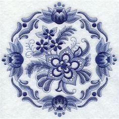 Delft Blue Medallion