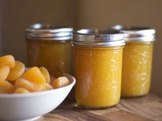 Apricot Honey Butter for winter canning... uses dried apricots and crystallized ginger! Yum!