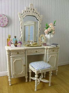 Cottage Chic Bedroom Set with Custom Embroidery