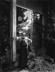 Ansel Adams, 1975.  By Arnold Newman. ***  Ansel Easton Adams (February 20, 1902 – April 22, 1984) was an American photographer and environmentalist, best known for his black-and-white photographs of the American West, especially in Yosemite National Park.