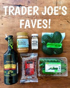 Another round of Trader Joes faves!  Extra virgin olive oil in a glass bottle with pouring spout (only $8 and the spout makes drizzling so easy!); cashew butter (on toast with banana errry morning); everything seasoning (on avo toast); bag of avocados (theyre hard so buy them several days in advance of when you want to eat); Persian cucumbers (crisp and crunchy no need to peel great veggie in lunches); candied pecans (wonderfully crunchy barely sweet my favorite snack).  What are you loving…