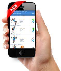 Usa l'app evolutionfit per gestire i tuoi allenamenti