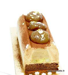 buche au caramel et pain d épices