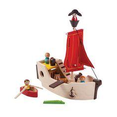 piratenschip PlanToys voor Mira (Sint) Kudzu