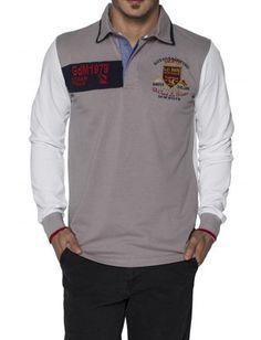 Giorgio di mare Polo shirt grey 1996 | TALLA M