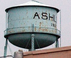 Ashley Ohio Water Tower by rockies73, via Flickr