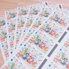 """There& a sense of dream ♡ Making Disney& """"Passport-style seat tags"""" ."""