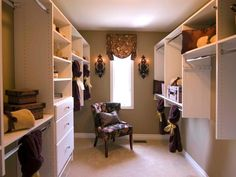 Dreamy, Easy-to-Organize Walk-In Closets | Easy Ideas for Organizing and Cleaning Your Home | HGTV