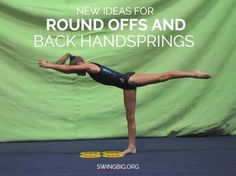 Hi All, I wanted to share a couple more things you can be doing today for round offs and back handsprings. These are probably the skills that I get the most Gymnastics Warm Ups, Types Of Gymnastics, Gymnastics At Home, Gymnastics Floor, Gymnastics Tricks, Tumbling Gymnastics, Gymnastics Skills, Gymnastics Coaching, Gymnastics Quotes