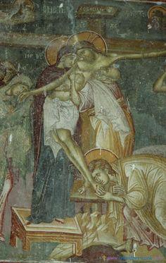 Frescoes of the Church of St. Nikita. Serbia (1320). Part III