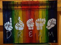 I ❤️ this! #dream #asl #deaf