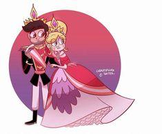Fan-Art by Gravityfy Evil Disney, Disney Magic, Star E Marco, Starco Comics, Chibi, Princess Star, Star Force, Evil Art, Downtown Disney