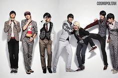 INFINITE for Cosmopolitan ft. playful YeolJong