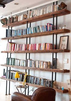 Love this collection of bookcase images from August Empress