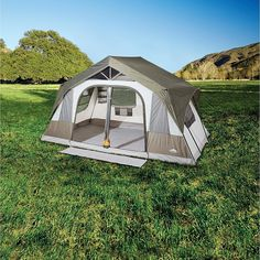 Northwest Territory Canyon Ridge Tent 14' x 8' - Fitness & Sports - Outdoor Activities - Camping & Hiking - Tents