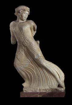 """Titled Eleusis and the great mysteries, the exhibition will highlight the unique statue of the """"Fleeing Persephone"""" (around 480 BC)"""