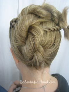 Rope Braid Hairstyle from BabesInHairland.com