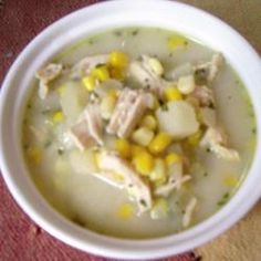 Creamy Chicken and Sweetcorn Soup Recipe on Yummly