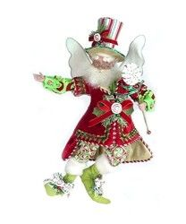 Peppermint Pleasures Christmas Fairy
