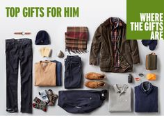Where the gifts are: top gifts for him from @nordstrom. Track them on worthit.co today.