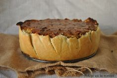 Tarta de coliflor, pavo y mascarpone  - Cauliflower, turkey and mascarpone pie