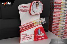 POP - Counter - Colgate - Total 12 Colgate Palmolive