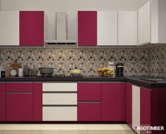 23 Best L Shaped Modular Kitchen Images Contemporary Kitchen