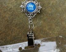 JW.ORG Badge Card Holder, Optional plastic card holder
