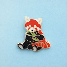 Red Panda Charity Enamel Pin