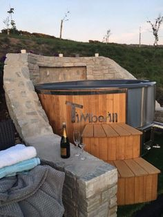 Hi Albert, Tub has been installed & had its first trial last night, all's working great. Garden Ideas Uk, Garden Boxes, Hot Tub Garden, Garden Drawing, Garden Sofa, She Sheds, Garden Architecture, Hot Tubs, Shade Plants