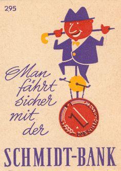 https://flic.kr/p/kQii8P | german matchbox label