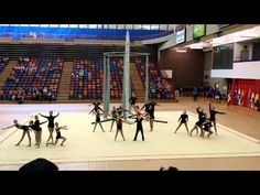 Momentum Aerial & Acrobatic Troupe presents: Boundless at the 2014 Canadian Gymnaestrada.