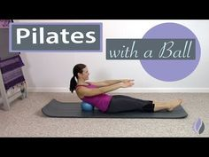 Sometimes we need to add a little variety to our Pilates workout and this Pilates with a Ball workout is a great fit if you want a little more work and will . Pilates Workout Videos, Pilates Training, Pilates Video, Pilates Barre, Pilates For Beginners, Beginner Pilates, Yoga Videos, Studio Pilates, Resistance Band Exercises