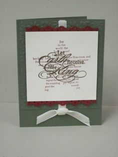 Joyful Greeting by redapron - Cards and Paper Crafts at Splitcoaststampers