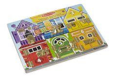 Melissa & Doug - 13785 - Brett mit Verschlüssen: Amazon.de: Spielzeug