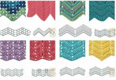 Best 8 Herringbone, Zig Zag Crochet Stitches for Free. More Patterns Like This!Free Crochet Stitches ⋆ Page 13 of 31 ⋆ Crochet KingdomThe crochet zig zag sample is kind of simple to make, you simply have to know its full mechanism. Punto Zig Zag Crochet, Zig Zag Crochet Pattern, Chevrons Au Crochet, Plaid Au Crochet, Motif Zigzag, Crochet Diagram, Crochet Chart, Free Crochet, Crochet Afghans