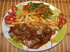 Pork Recipes, Beef, Chicken, Red Peppers, Meat, Ox, Ground Beef, Cubs