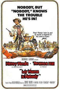 My Name Is Nobody - 1973 - Movie Poster