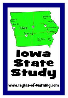 An Iowa state study with printable map.