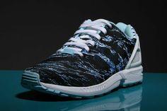 adidas zx flux bleu ocean