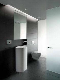 salle de bain noire et la faience leroy merlin sol noir pour la salle de bain noire