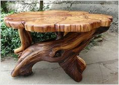 Wood crafts that sell at flea markets woodworking projects small plans make money simple scrap making . wood crafts that sell Tree Furniture, Wooden Furniture, Natural Wood Furniture, System Furniture, Outdoor Furniture, House Furniture, Furniture Plans, Rustic Table, Rustic Decor