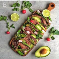 This Flank Steak Salad from @beautifulcuisines looks absolutely delicious!