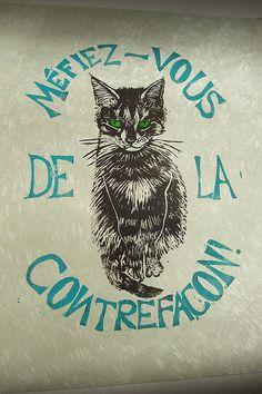 Minouette the cat, accept no substitutes ;) by minouette