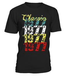 """# 40th Birthday Gift Classic 1977 T-Shirt for Men & Women .  Special Offer, not available in shops      Comes in a variety of styles and colours      Buy yours now before it is too late!      Secured payment via Visa / Mastercard / Amex / PayPal      How to place an order            Choose the model from the drop-down menu      Click on """"Buy it now""""      Choose the size and the quantity      Add your delivery address and bank details      And that's it!      Tags: Celebrate your fortieth…"""