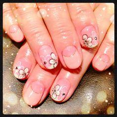 春爛漫ネイル #nail #nails #nailart #art #design #avarice #kayo #springnail #spring #flower (NailSalon AVARICE)