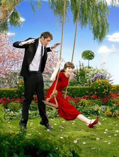 I've never seen this promotional for Pushing Daisies and I sort of love it.